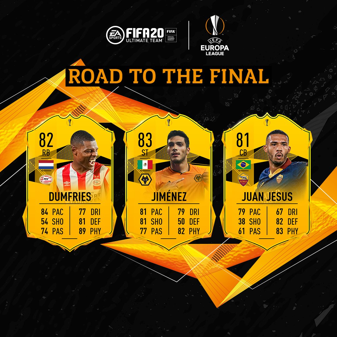 UEFA Europa League Road to the Final Players