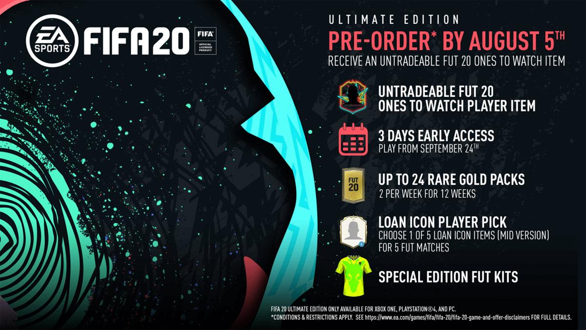 FIFA 20 – Pre-order & Buy – FIFPlay