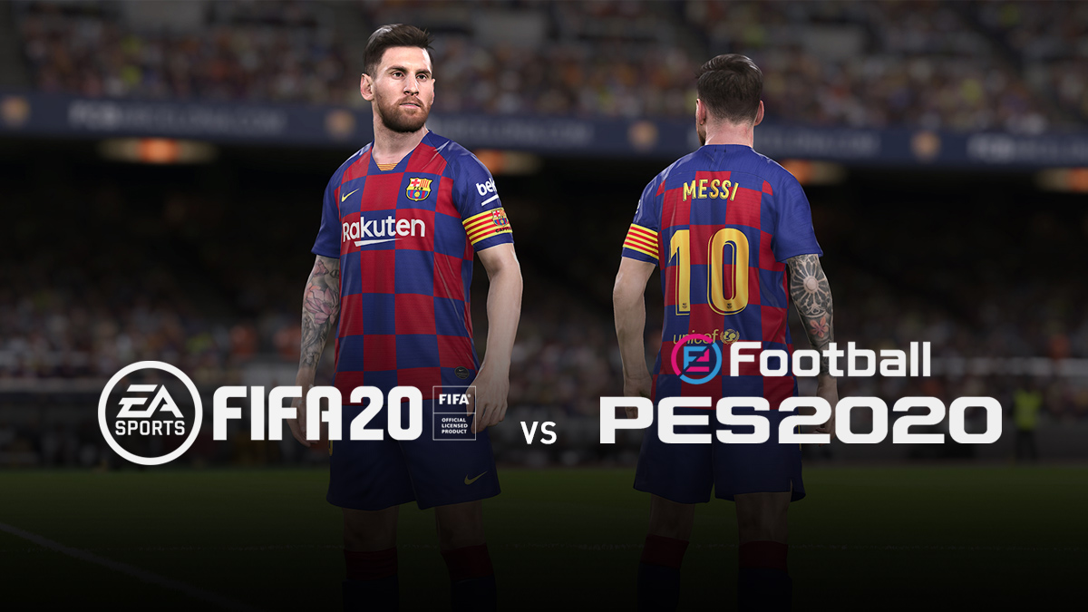 FIFA 20 vs PES 2020 – The Game to Buy This Year