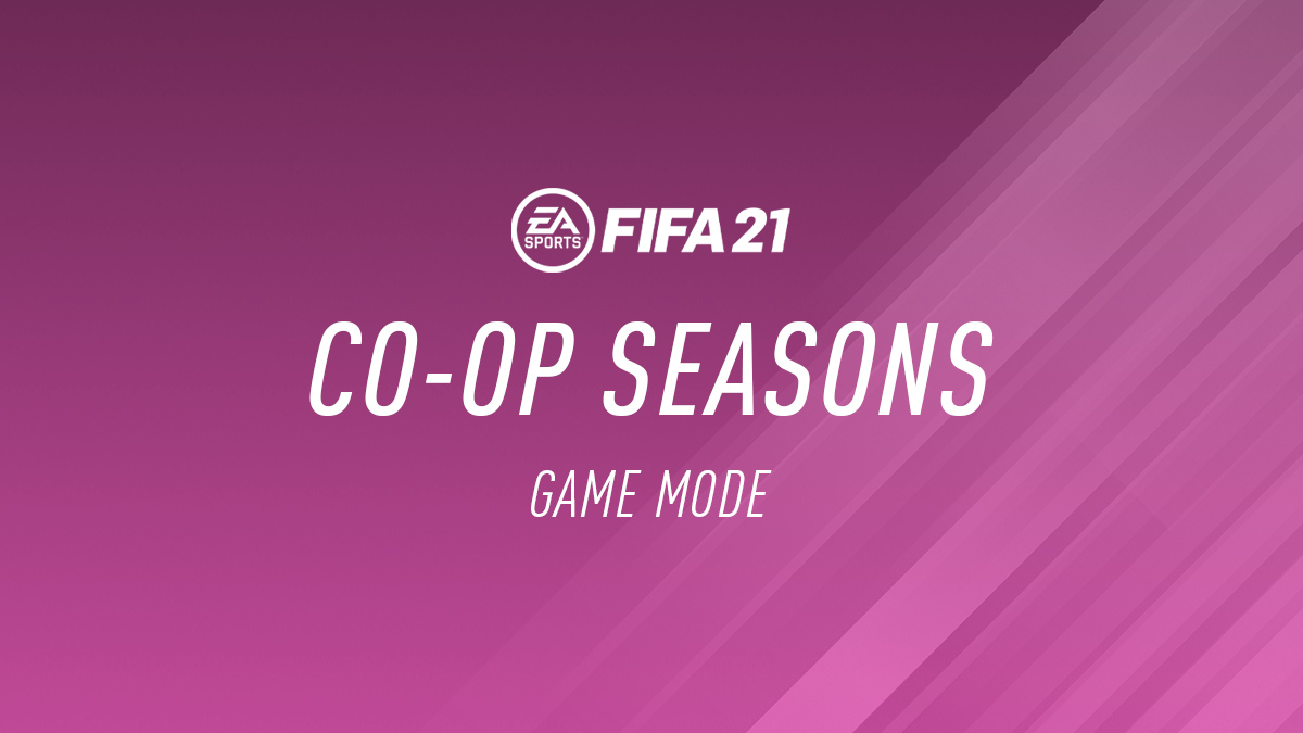 FIFA 21 Co-op Seasons