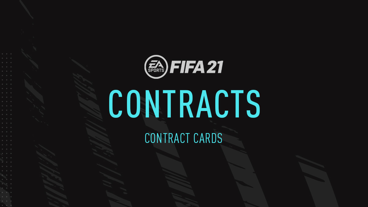 FIFA 21 Contracts (Contract Cards)