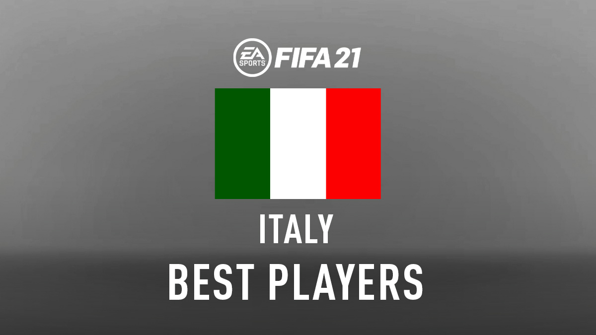 FIFA 21 Top Players from Italy