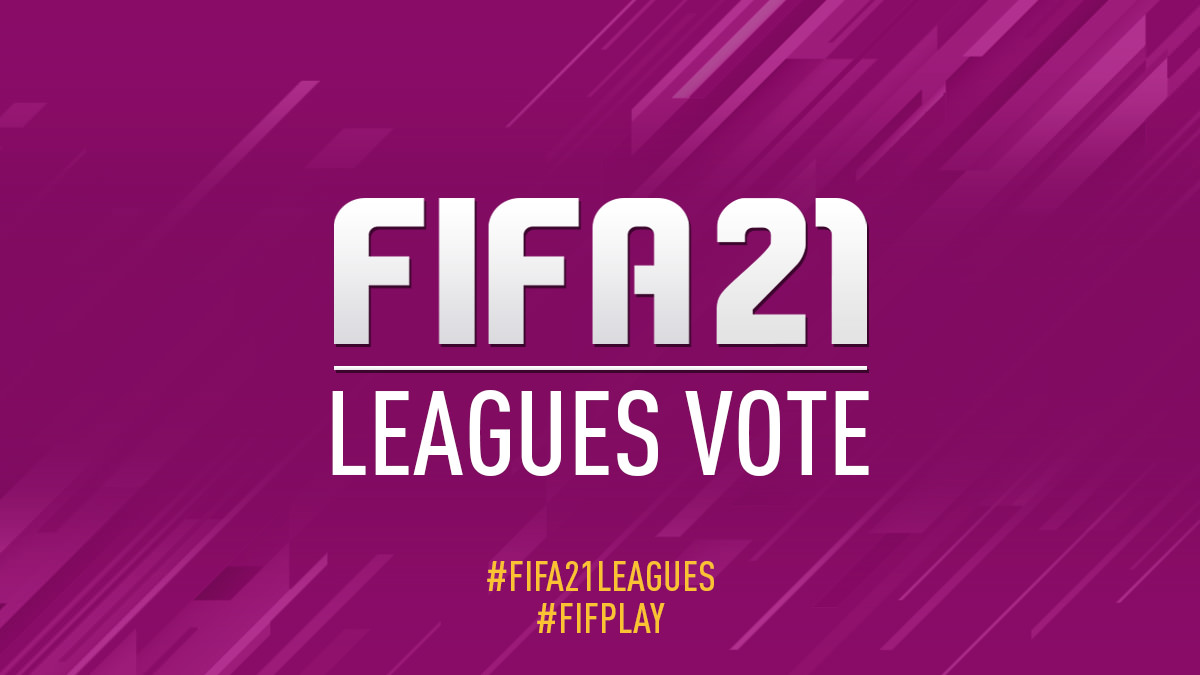 Vote for FIFA 21 Leagues
