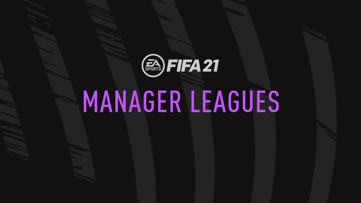 FIFA 21 Manager Leagues