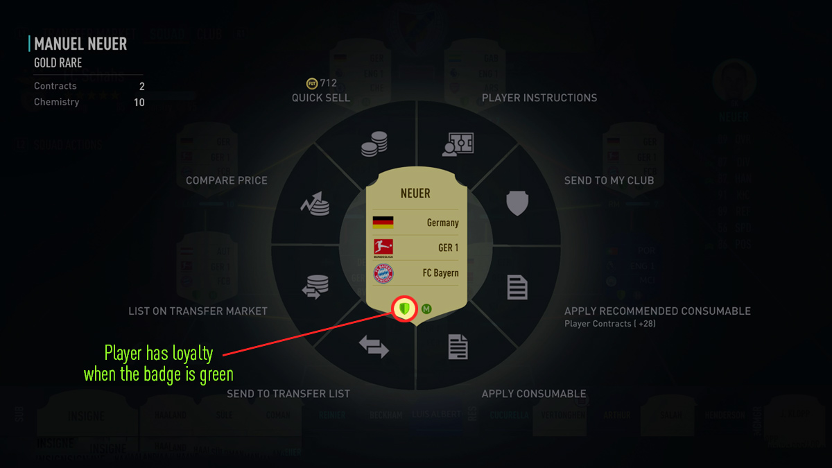 Player Loyalty Sample