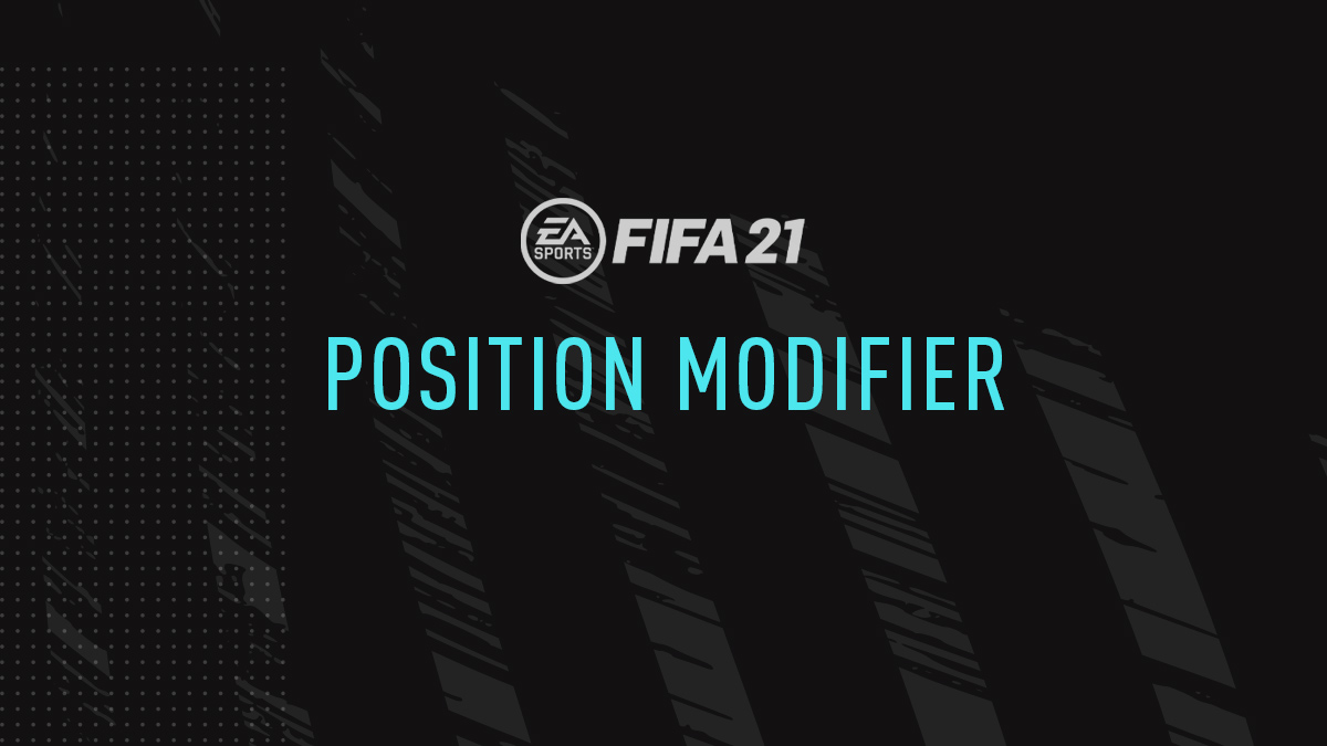 FIFA 21 Position Modifier Cards (Position Change)
