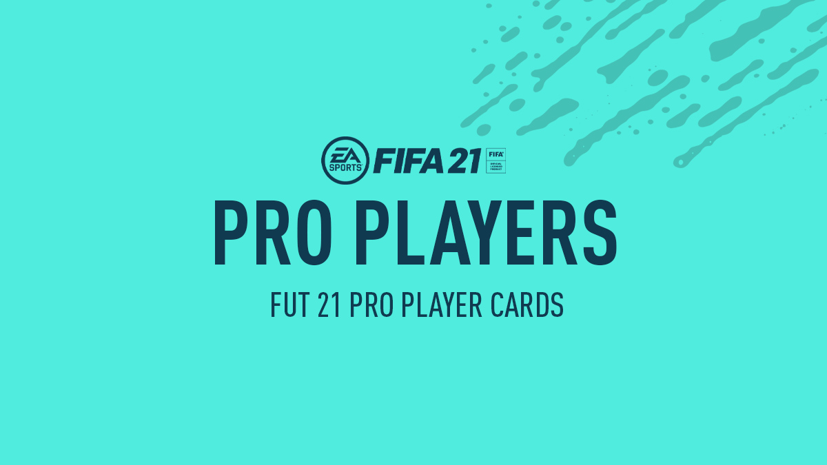 FIFA 21 Pro Players Guide
