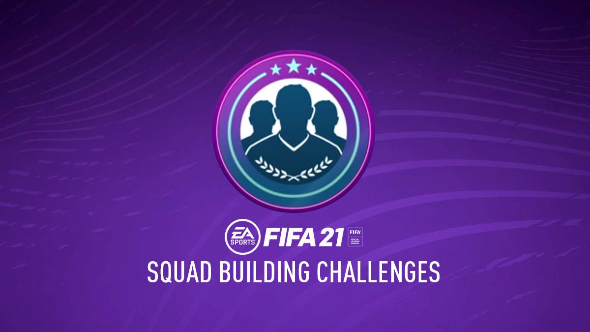 FIFA 21 Squad Building Challenges (SBC) - FIFPlay