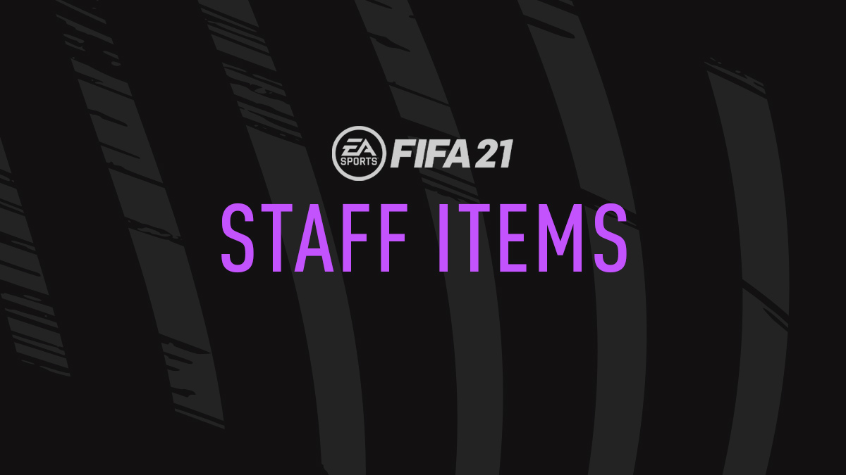 FIFA 21 Staff Items