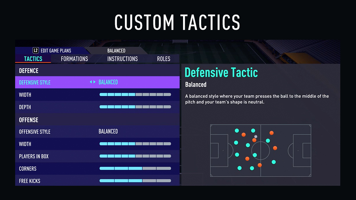 FIFA 21 Tactics (Custom Tactics & Game Plans)