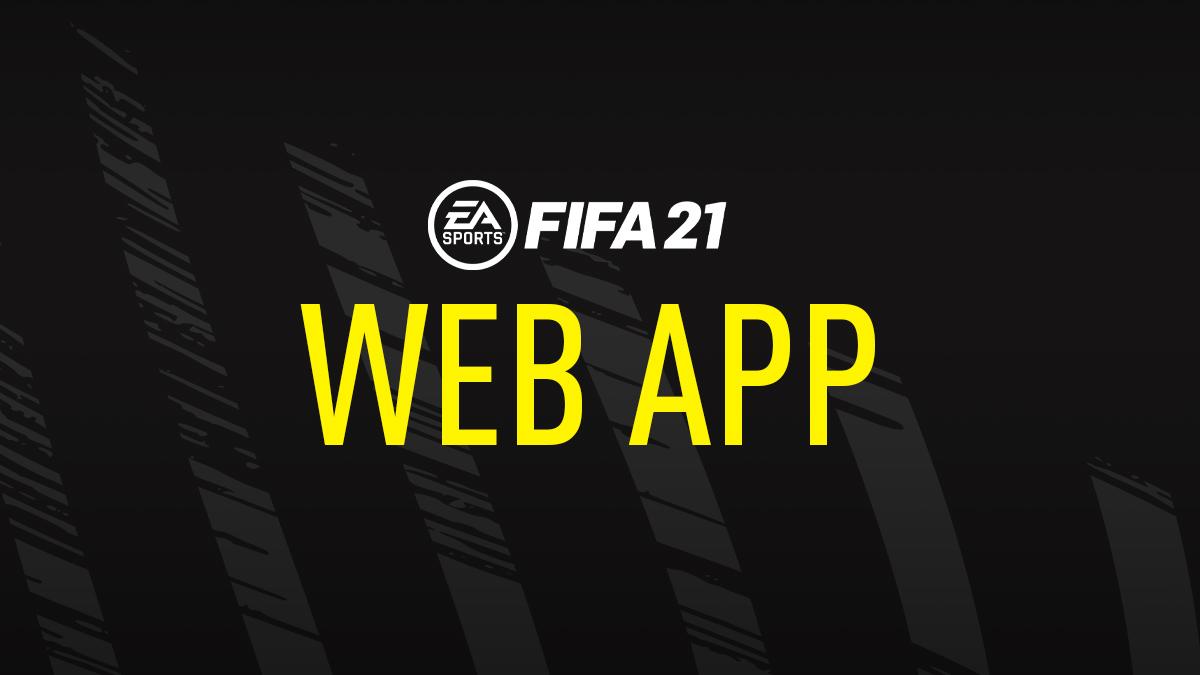 FUT 21 Web App