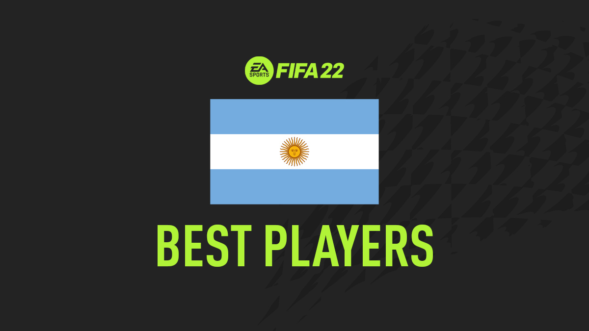 Mejores Jugadores de FIFA 22 Argentina