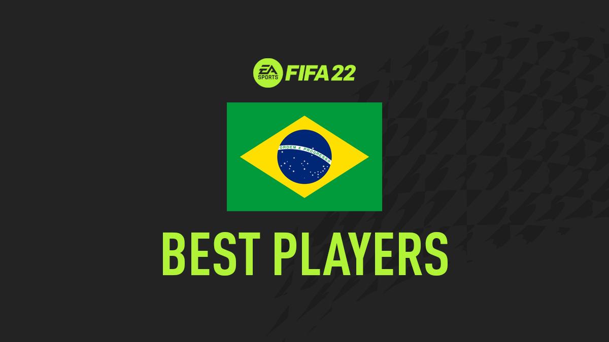 Los mejores jugadores de FIFA 22 de Brasil