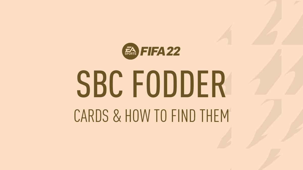 SBC Forraje FIFA 22