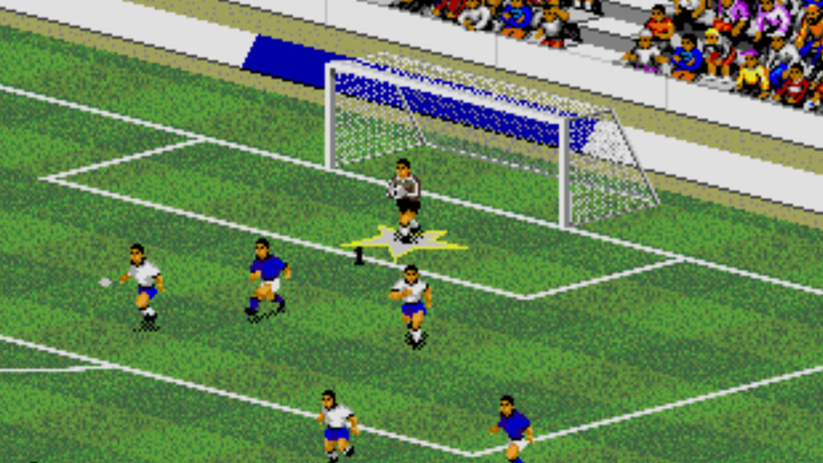 the game soccer