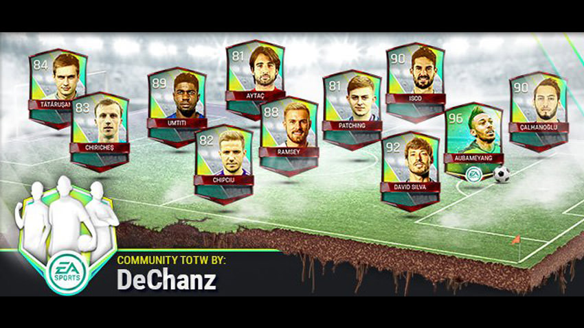 FIFA Mobile Vs Attack Community Team of the Week 10