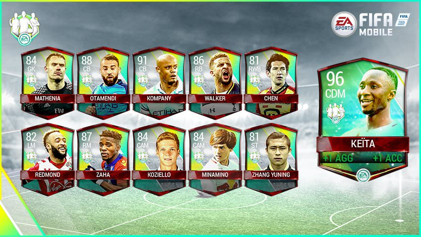 FIFA Mobile Vs Attack Community Team of the Week 3