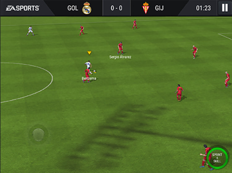 FIFA Mobile Offensive Skill Moves