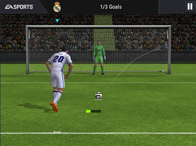 FIFA Mobile Penalty Kicks