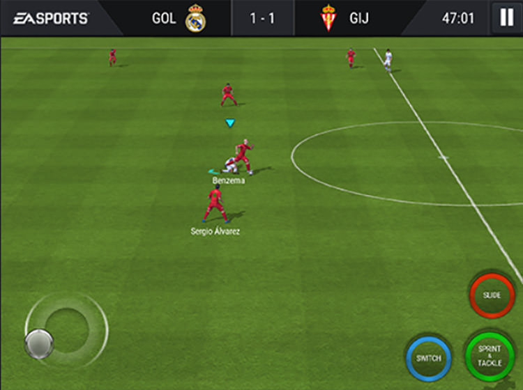 FIFA Mobile Tackling