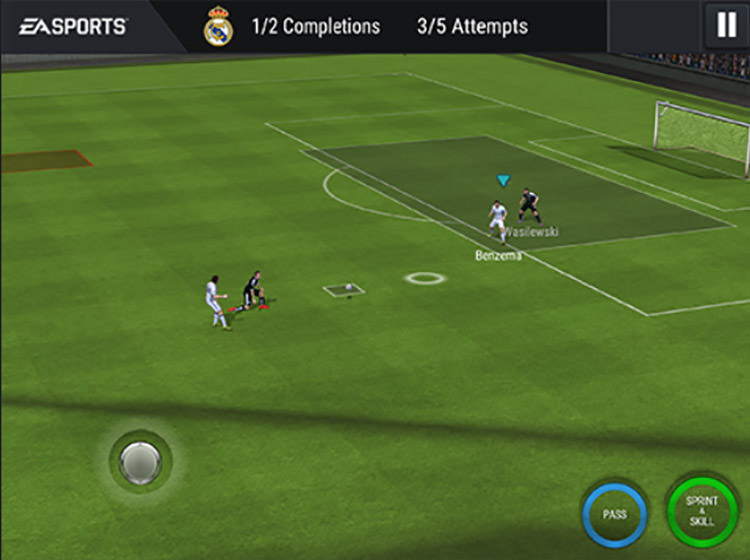 FIFA Mobile Touch Controls
