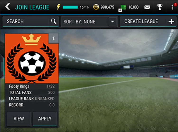 FIFA Mobile Leagues