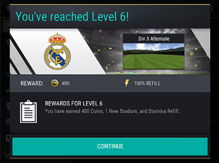 FIFA Mobile Earning XP