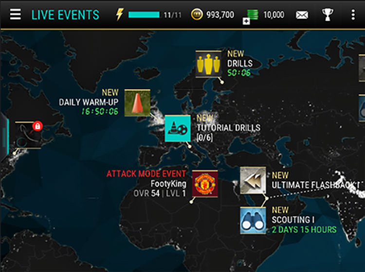 FIFA Mobile Live Events