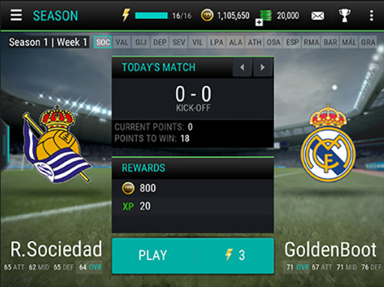 FIFA Mobile Seasons