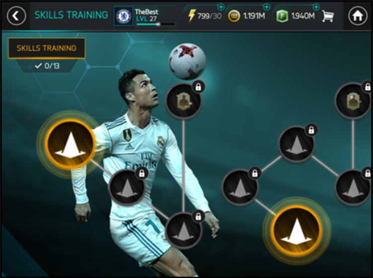 FIFA Mobile Campaign Chapters
