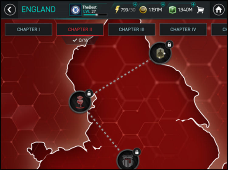 FIFA Mobile Campaign Paths