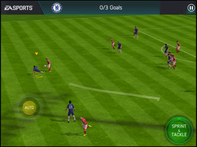 FIFA Mobile Tackling Controls