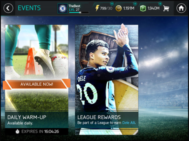 FIFA Mobile Events