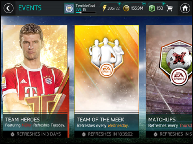 FIFA Mobile Future Events