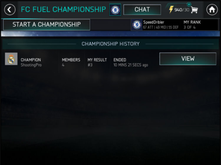 FIFA Mobile Accessing League Championships