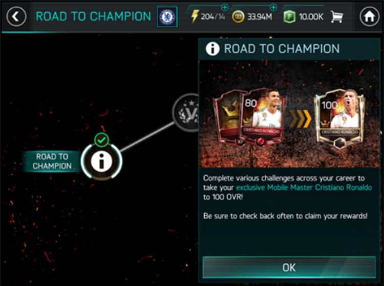 FIFA Mobile Become Champion