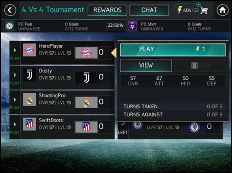 FIFA Mobile Play Tournaments