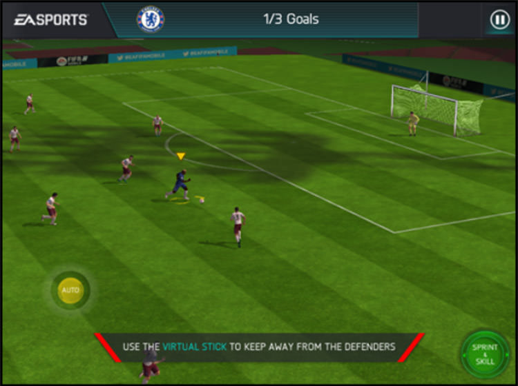FIFA Mobile Visual Feedback
