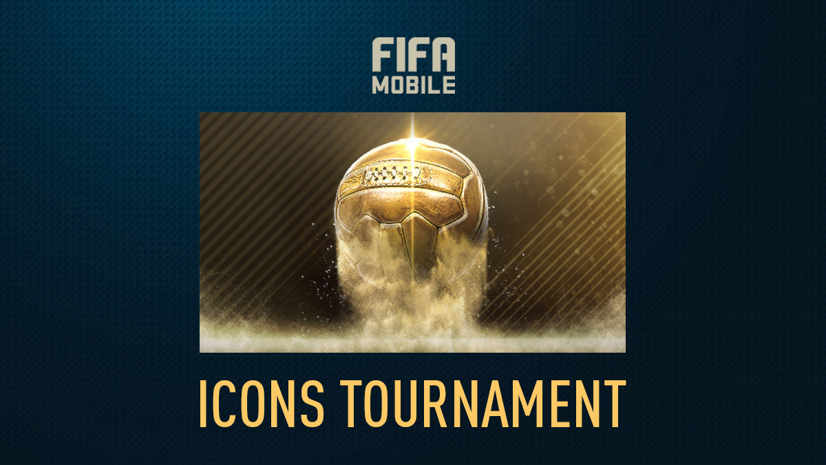 Icons Tournament Event in FIFA Mobile