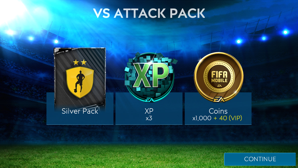 VS Attack Reward Pack