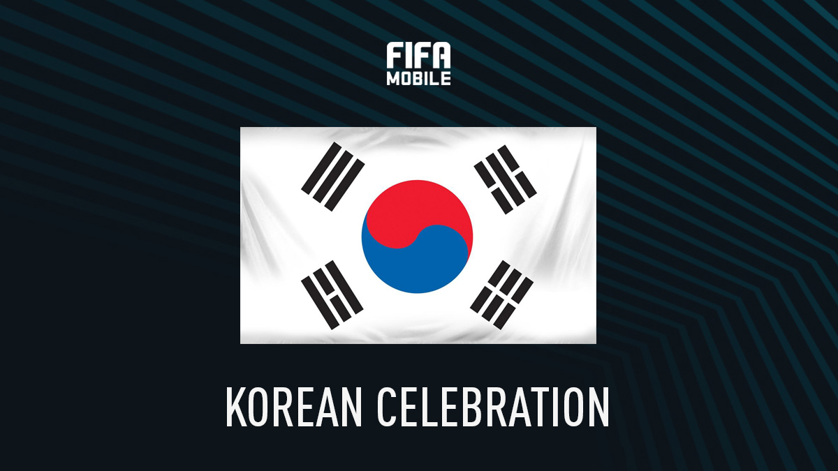 FIFA Mobile Korean Celebration