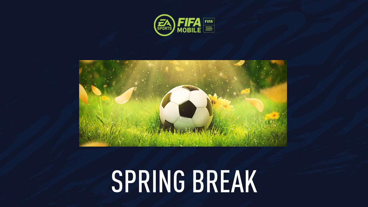 Vacaciones de primavera de FIFA Mobile