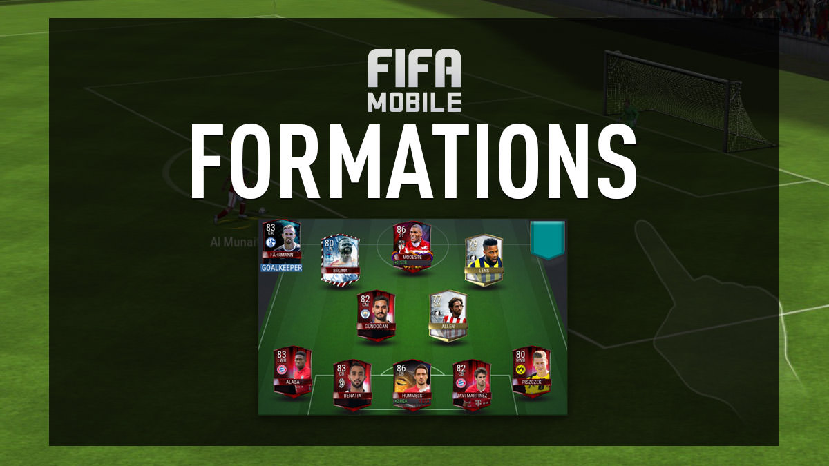 FIFA Mobile Formations