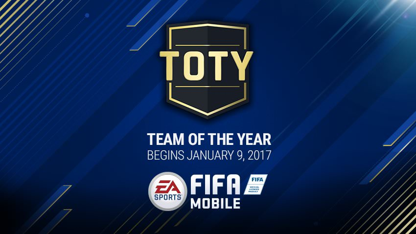 FIFA Mobile Team of the Year 2016