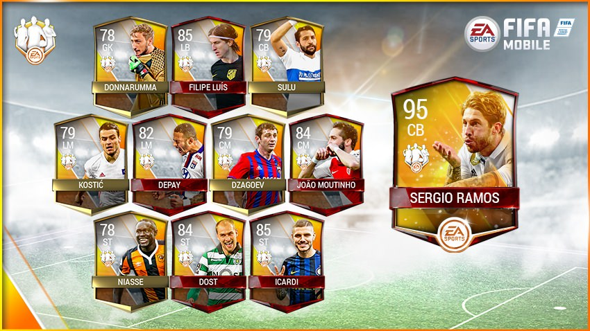 FIFA Mobile Team of the Week 2 – March 15