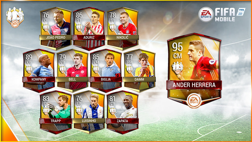 FIFA Mobile Team of the Week 7 – April 19