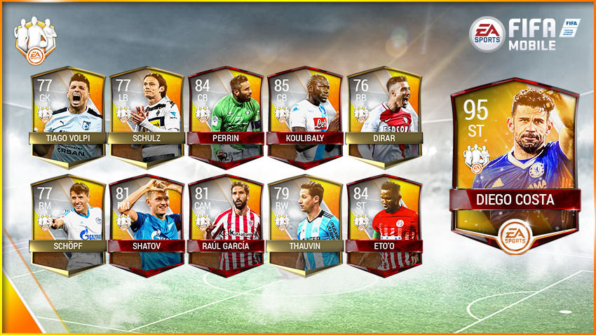 FIFA Mobile Team of the Week 9 – May 3
