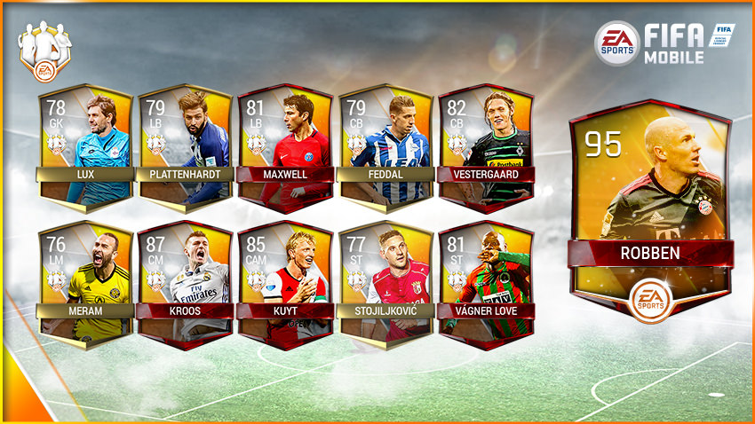 FIFA Mobile Team of the Week 11 – May 17