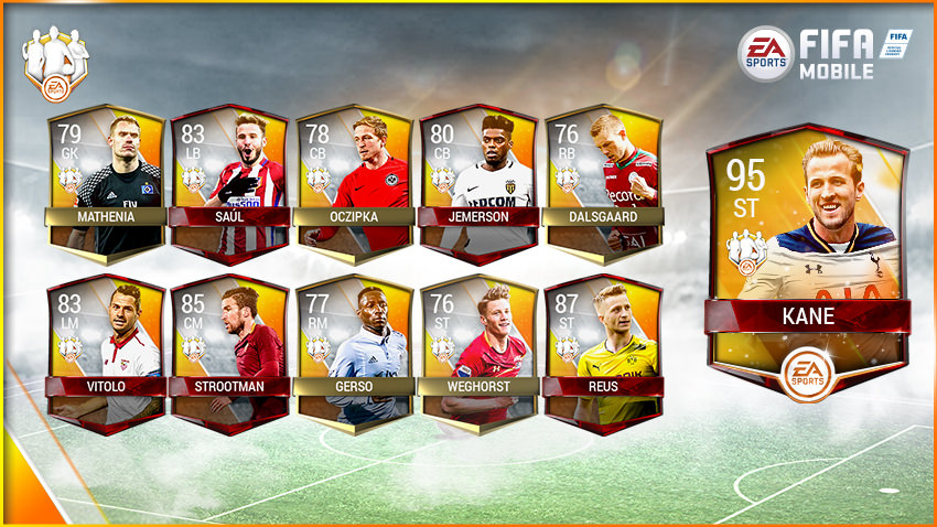 FIFA Mobile Team of the Week 12