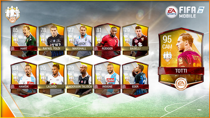FIFA Mobile Team of the Week 13 – May 31